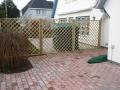 Terrasse + Abgrenzung