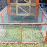 Außengehege für Kaninchen