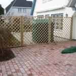 Neugestaltung Zaun